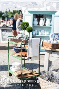 tips on styling a retail space | miss mustard seed
