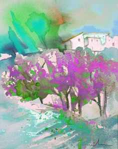 Early Afternoon 08. Artist:Miki De Goodaboom. Medium:Painting