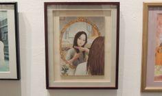 銀座ヴァニラ画廊での2011年の合同個展に出品された作品