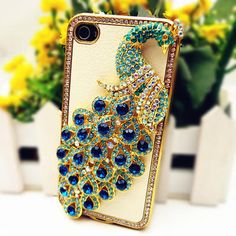 Bling Peacock iPhone Case!