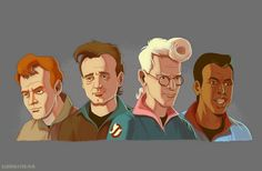 The Real Ghostbusters - Albino Raven Skyfall, Cultura Pop, James Bond, The Real Ghostbusters, Ghostbusters Logo, Nerd Art, Ghost Busters, Albino, Gremlins