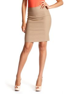 Think I need this. Stretch Pencil Skirt, Pencil Skirts, Work Skirts, That One Friend, Fashion 101, Mean Girls, All Things Beauty, Charlotte Russe, Taupe