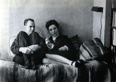 Henry Miller andAnaïs Nin, Louveciennes, France   1932  Uncredited Photograph