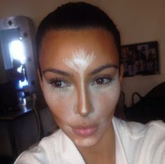 Beauty and the Mist - Contour and highlight like Kim Kardashian and an evening make up look