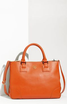 Tory Burch Double zip Robinson. I think I'm going to do it!  I need this bag.... in black.