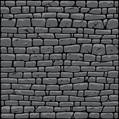 Grey Brick Wall vector illustration by DGIM Studio. Find a lot of cool prepared designs on our online shop www.dgimstudio.com. 100% vector designs with editable texts. #brick #brickwall #vector #vectorillustration