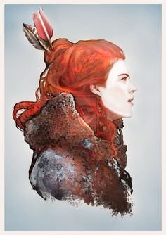 Ygritte by jolantanna on deviantart