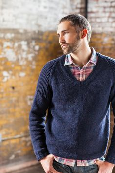 Barrett pullover from Brooklyn Tweed