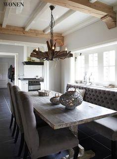 Keuken on pinterest banquet drawer pulls and falcons for 3d interieur ontwerp