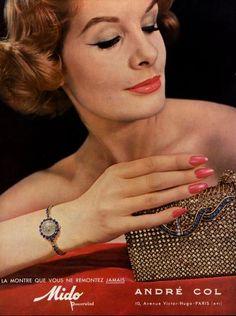 André Col 1959. vintage nails!
