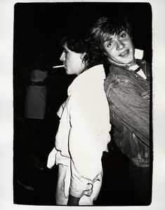 Nick Rhodes and Simon Le Bon Christie's Andy Warhol @ Christie's: Entertainers