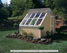 Handy Home Phoenix 10' x 8' Solar Shed - Kit Only