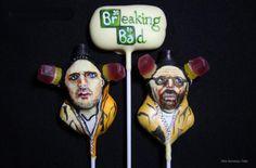 Breaking Bad cake pops