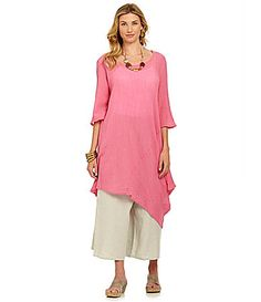 120773101b7 No concerns about proportion here! Bryn Walker Naida Tunic #Dillards Am In  Love,