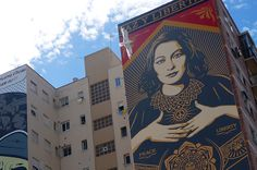 OBEY en el Proyecto MAUS/ Soho Málaga. #StreetArt #ArteUrbano #Art #Arte #Arterecord https://twitter.com/arterecord