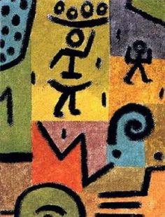 """Paul Klee  """"Zitronen"""""""