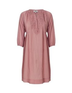 Gorgeous tunic with 3/4 sleeves - Coral