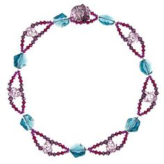Intertwined Necklace | Fusion Beads Inspiration Gallery  Minimize it to a bracelet