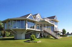 homes on Lake Michigan   ... House, Lake St. Clair, Michigan - In Photos: Elevated And Raised Homes