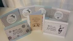BEST Christmas Card Ideas using Recollections Shimmer Noel Paper Pad