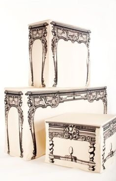 I love these! Trompe l'oeil Tablecloths. www.theadventuresofapinkchampagnebubble.com