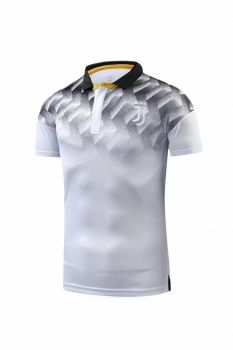 2018-19 Cheap Polo Jersey Juventus White Replica Soccer Shirt  CFC896  d88775396