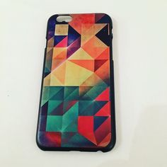 "iPhone 6 Geometric Case iPhone 6 Geometric Case. Fits iPhone 6/6S (2014 and 2015) 4.7"". The case is a hard plastic which protects the back and sides of the phone.  Trades, PayPal. Check out more cases on Amazon, Facebook or www.allteli.com Allteli Accessories Phone Cases"