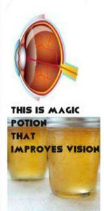 THIS IS MAGIC POTION THAT IMPROVES VISION