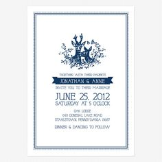 My Dear Wedding Invitations www.lovevsdesign.com