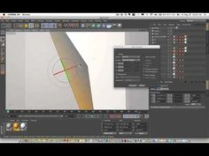Cinema 4D Tutorial_Fit shifted axis.(axis center)(시네마 4d 축맞추는 강좌) - YouTube