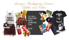 """Amaya's Thanksgiving Dinner: Ophelia and Robin (RTD)"" by amayahawthorn ❤ liked on Polyvore featuring Lands' End, Fifth Sun, Casetify, Diane Von Furstenberg, Dolce&Gabbana, Converse, Gucci and OPI"