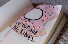 Image result for cute tumblr wreck this journal ideas