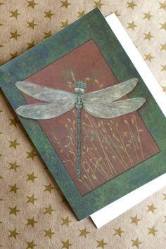 Dragonfly Postcard.