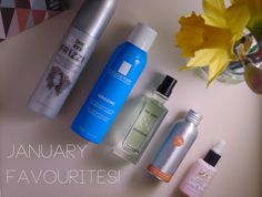 Favourites    In January! Products from Umberto Giannini, La Roche Posay, L'Occitane, Bravura and The Body Shop!