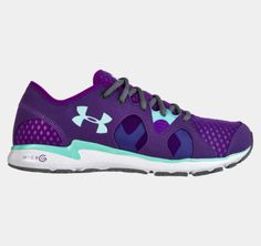 Women's UA Micro G® Neo Mantis Running Shoes | [shown in Pride]. These look awesome in the picture. They look even better in person. LOVE!