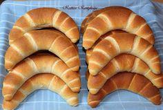 Katica konyhája: Tejes kifli Hot Dog Buns, Hot Dogs, Bread, Food, Label, Search, Hungary, Brot, Essen