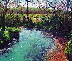 River Bend - richard thorn. www.richardthornart.co.uk