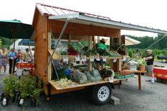 large mobile farmstand - Google Search