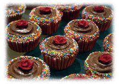 Image result for rose cupcake