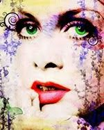Mod Fashion Pop Art Fashion, Mod Fashion, Androgynous Look, Twiggy, Retro Art, Green Eyes, Love Art, Modern Art, Halloween Face Makeup