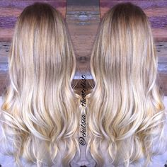 Balayage blonde @chelsea_thestylist