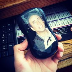"""""""Why isn't the mouse working? I just.... Oh..."""" #nicolascage #welcometothecage #prank #aprilfools #grandparents"""
