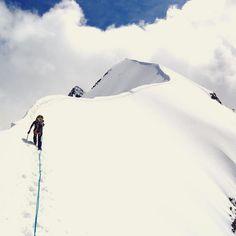 Climbing Piz Bernina redbull's photo on Instagram