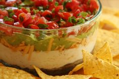 Seven layer dip has become a holiday tradition in my family, and most of the work is usually assigned to a son-in-law. The rest of us have long-since fallen into a routine; my mom makes the turkey,...