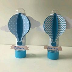 Baby Boy Baptism, Baby Shawer, Baby Boy Shower, Baby Love, Balloon Birthday Themes, Theme Bapteme, Diy Paper, Paper Crafts, Baby Party