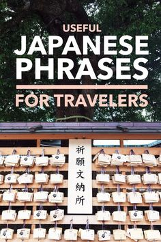 The most intimidating thing about traveling to Japan is the language barrier. Luckily Japanese people are super helpful and will typically go out of their way to assist you even if they don't understand English. But knowing a few useful Japanese phrases will go a long way.