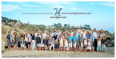 Really like this photo session. How I want ours to turn out. Extended family portraits in Laguna Beach Crescent Bay_421