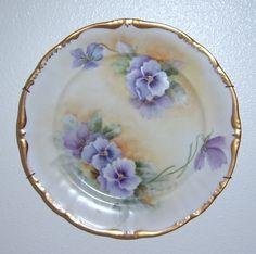 porcelain painting plates | Ferne Lemieux Porcelain painting artist