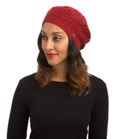 Look what I found on #zulily! Red Gigi Beret by MaxLove Brand #zulilyfinds