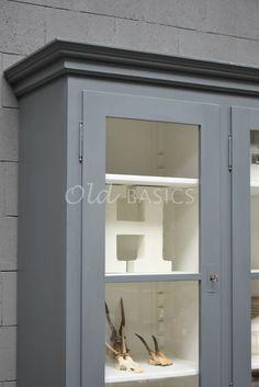 Schoolkast   1-1705-020   Old BASICS Bathroom Medicine Cabinet, Mirror, Furniture, Home Decor, Decoration Home, Room Decor, Mirrors, Home Furnishings, Home Interior Design